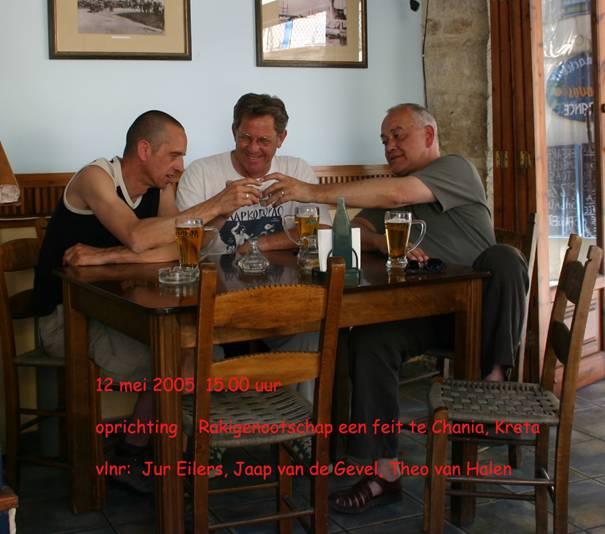Oprichting Rakigenootschap 2005